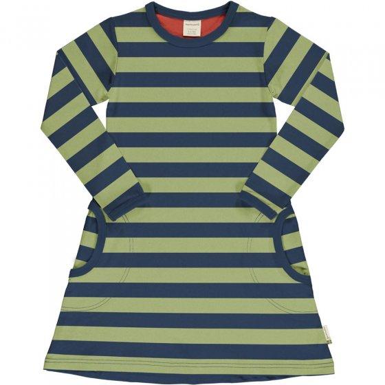 Maxomorra Fern Stripe LS Dress
