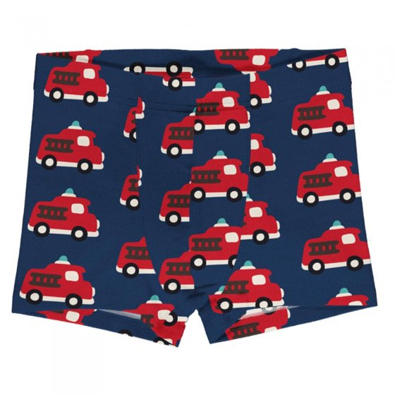 Maxomorra Fire Truck Boxer Shorts