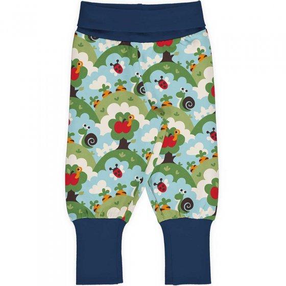 Maxomorra Garden Rib Pants