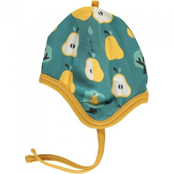 Maxomorra Golden Pear Velour Helmet Hat