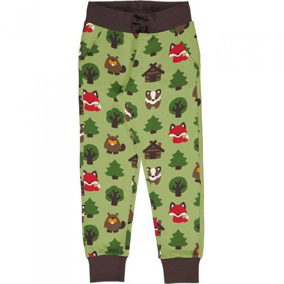 Maxomorra Green Forest Sweatpants