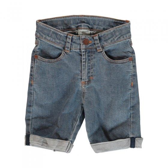 Maxomorra Medium Light Wash Denim Shorts