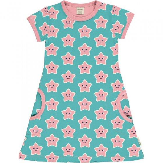 Maxomorra Starfish SS Dress