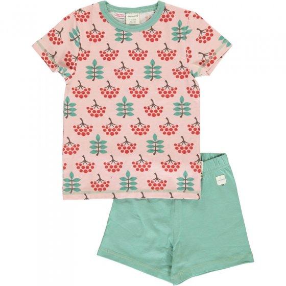 Maxomorra Ruby Rowanberry SS Pyjamas