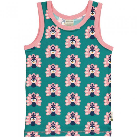 Maxomorra Peacock Tank Top
