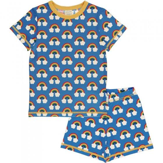 Maxomorra Rainbow SS Pyjamas