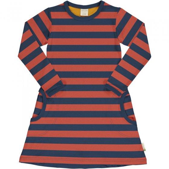 Maxomorra Rowan Stripe LS Dress