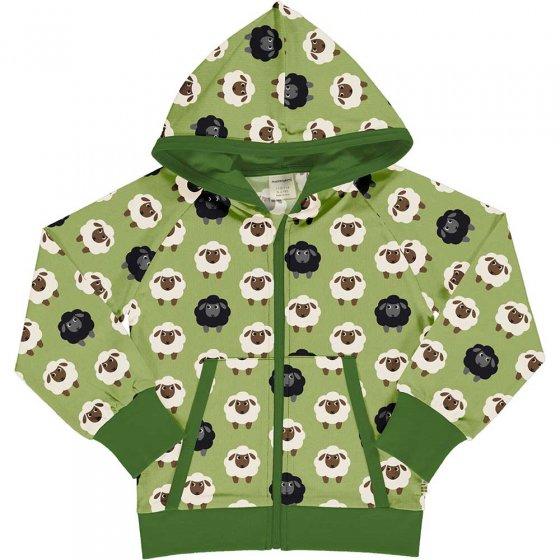 Maxomorra Sheep Hooded Cardigan