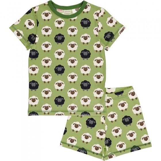 Maxomorra Sheep SS Pyjama Set