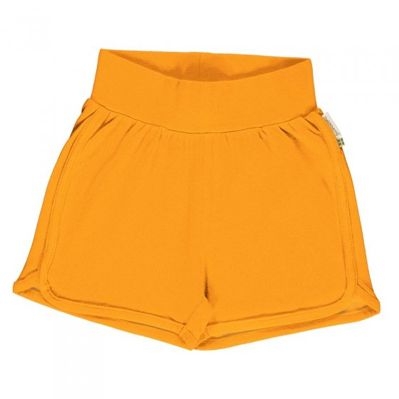 Maxomorra Solid Tangerine Runner Shorts