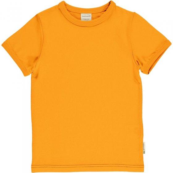 Maxomorra Solid Tangerine SS Top