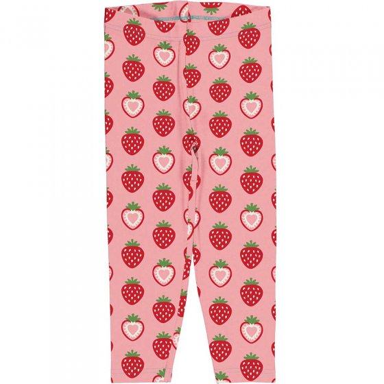 Maxomorra Strawberry Cropped Leggings