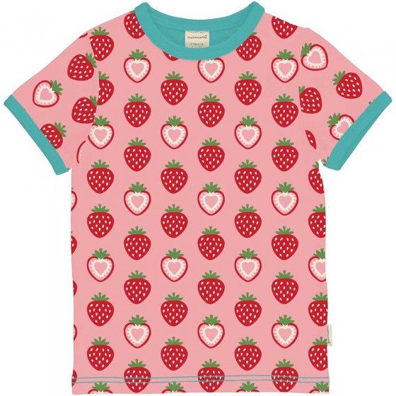 Maxomorra Strawberry SS Top