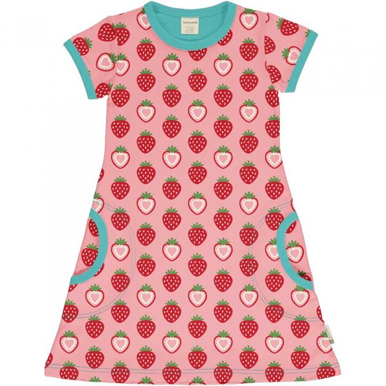 Maxomorra Strawberry SS Dress