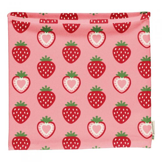 Maxomorra Strawberry Tube Scarf