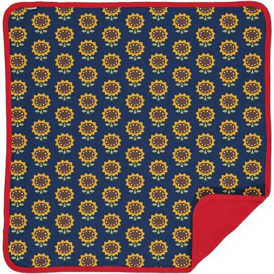 Maxomorra Sunflower Velour Blanket