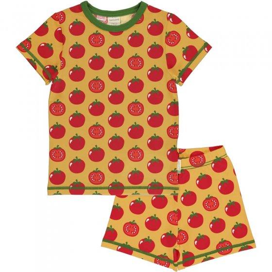 Maxomorra Tomato SS Pyjamas