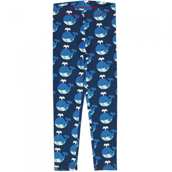 Maxomorra Whale Sweat Leggings