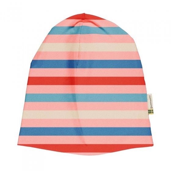 Maxomorra Blossom Stripe Hat
