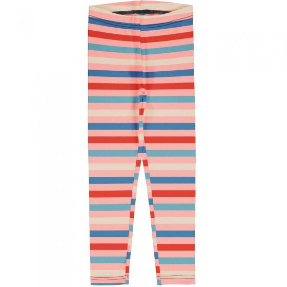 Maxomorra Blossom Stripe Leggings