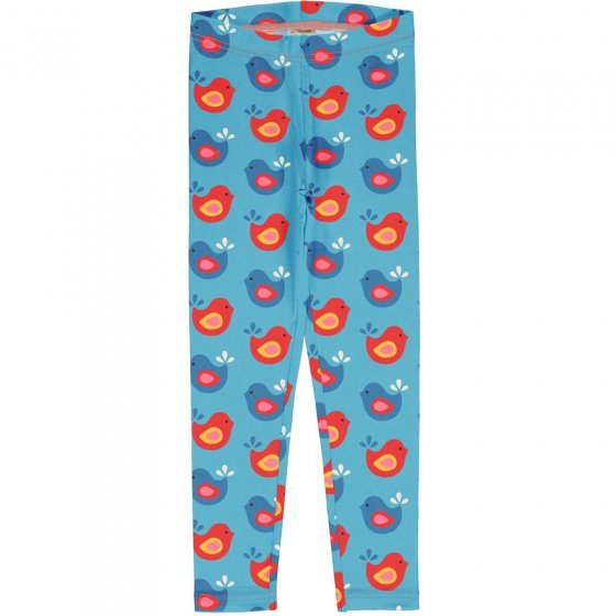 Maxomorra Bright Birds Leggings