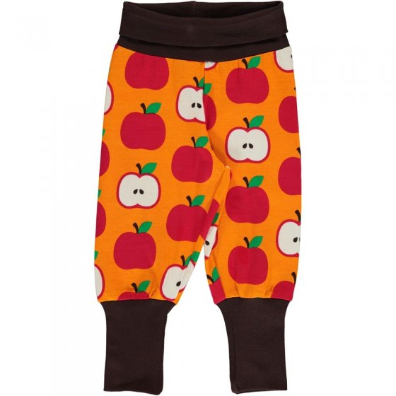 Maxomorra Classic Apple Rib Pants
