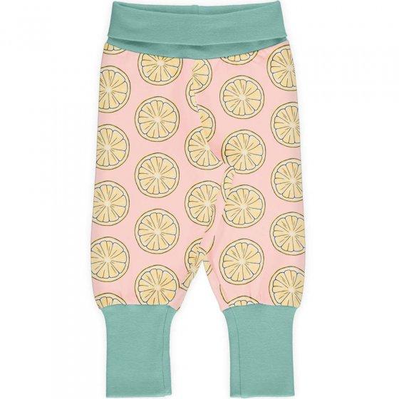 Maxomorra Fresh Lemon Rib Pants