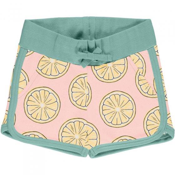 Maxomorra Fresh Lemon Sweat Runner Shorts
