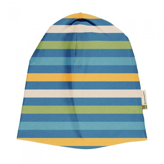 Maxomorra Ocean Stripe Hat