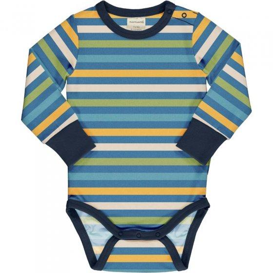 Maxomorra Ocean Stripe LS Body