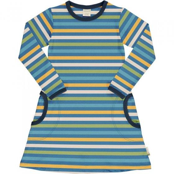 Maxomorra Ocean Stripe LS Dress