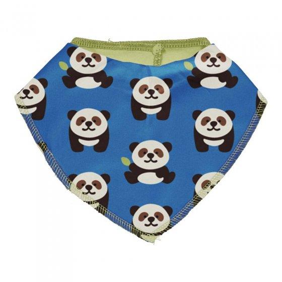 Maxomorra Playful Panda Dribble Bib