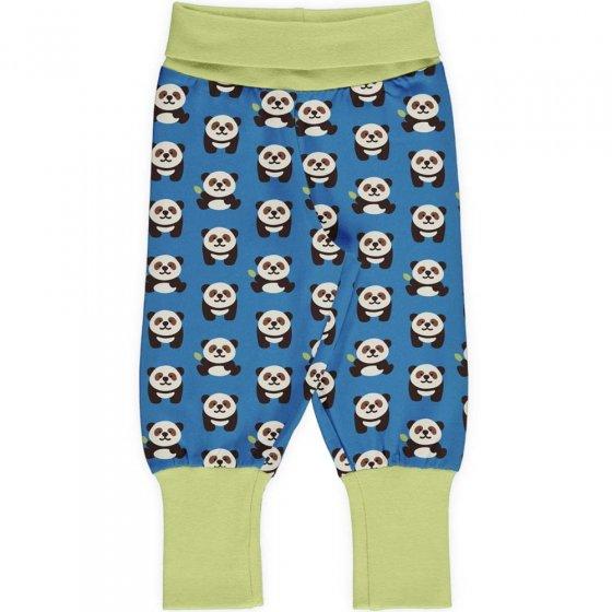 Maxomorra Playful Panda Rib Pants