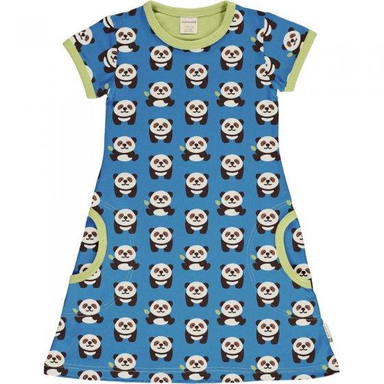 Maxomorra Playful Panda SS Dress