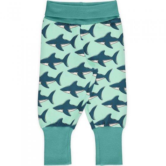 Maxomorra Shark Rib Pants
