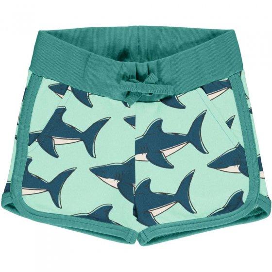 Maxomorra Shark Sweat Runner Shorts