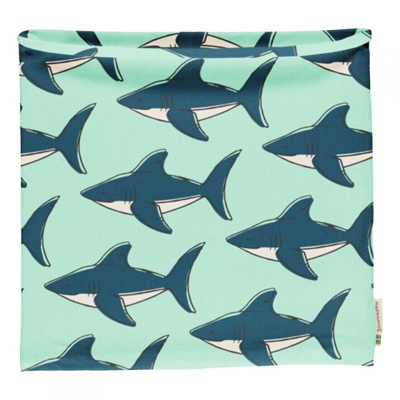 Maxomorra Shark Tube Scarf