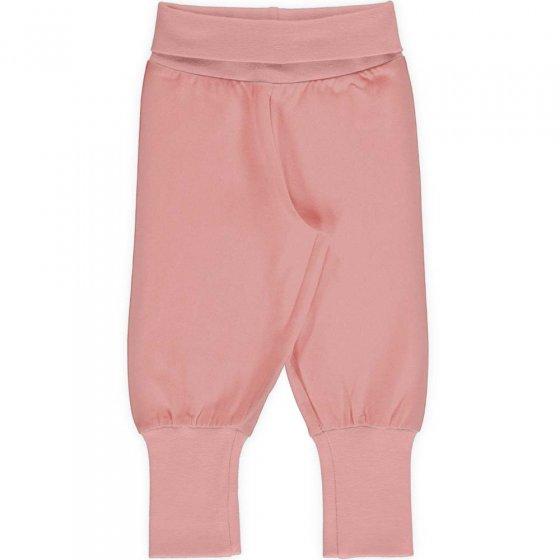 Maxomorra Solid Blossom Rib Pants