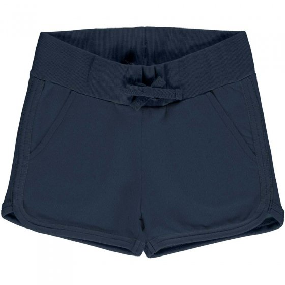 Maxomorra Solid Midnight Sweat Runner Shorts