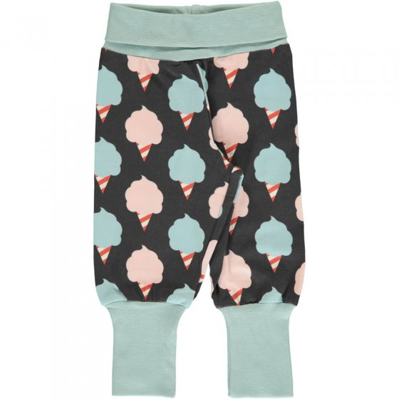 Maxomorra Sweet Cotton Candy Rib Pants