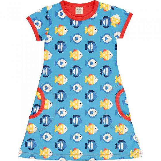 Maxomorra Tropical Aquarium SS Dress