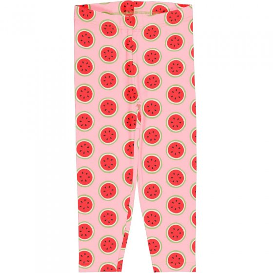Maxomorra Watermelon Cropped Leggings