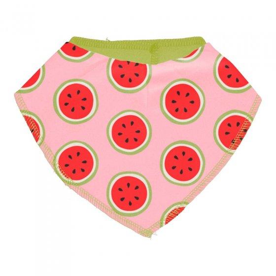 Maxomorra Watermelon Dribble Bib