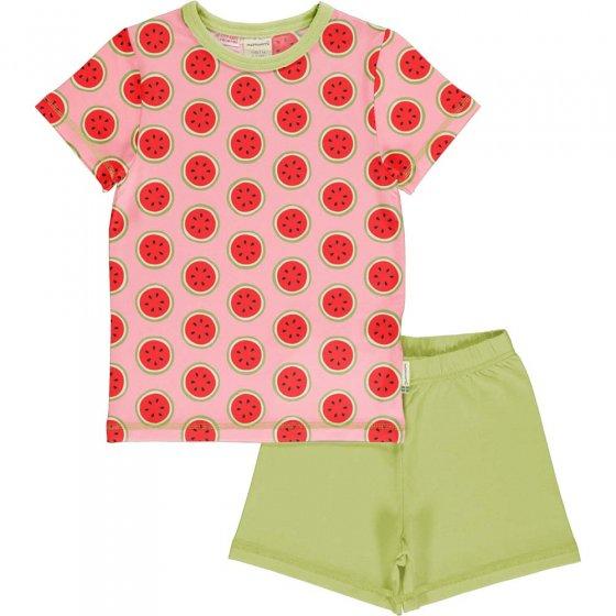 Maxomorra Watermelon SS Pyjama Set