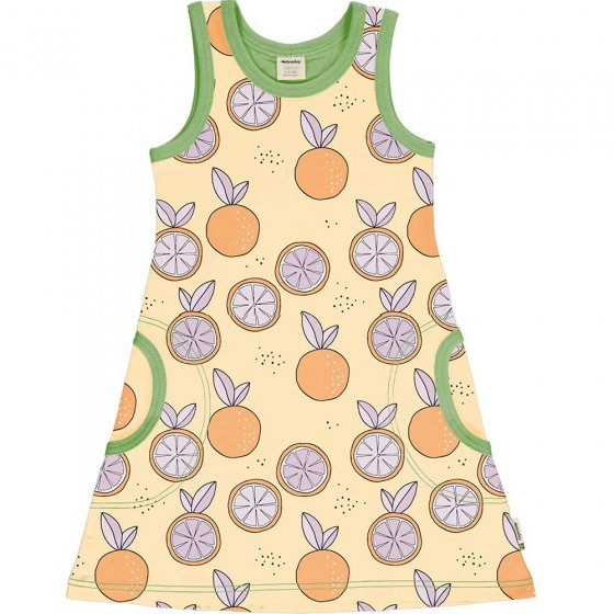 Meyadey Citrus Sun Sleeveless Dress