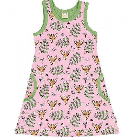 Meyadey Giraffe Garden Sleeveless Dress