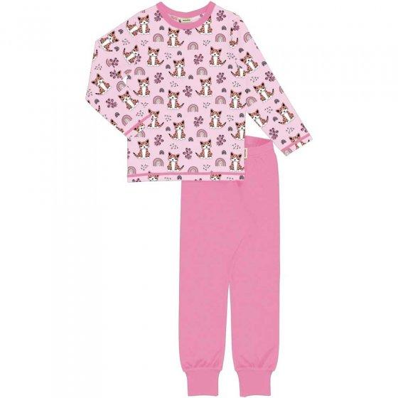 Meyadey Kitty Rainbow LS Pyjamas
