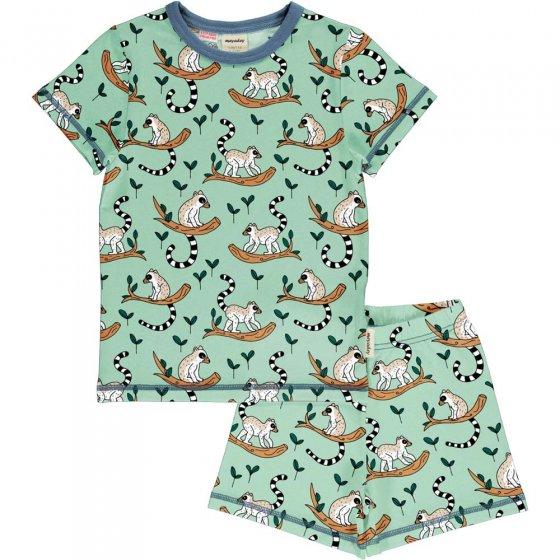 Meyadey Maki Jungle SS Pyjama Set