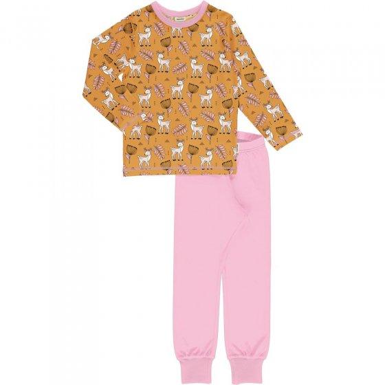 Meyadey Poppy Deer LS Pyjama Set