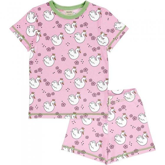 Meyadey Swan Queen SS Pyjama Set